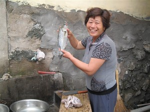 明玉渔家乐—闫妈妈